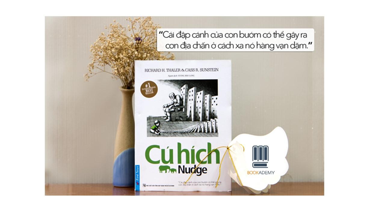 """Bookademy] Review Sách """"Cú Hích - Nugde"""": Cuốn Sách Tạo Nên Sự Khác Biệt. -  YBOX"""