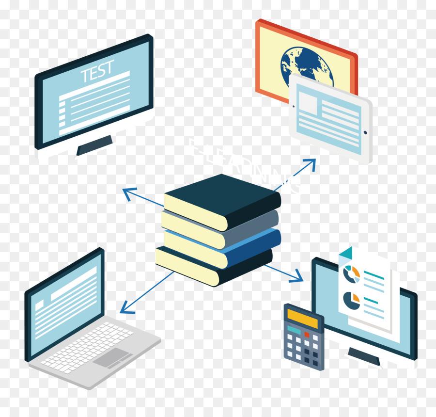 Giáo dục công nghệ e-học tập thể chia sẻ nội Dung đối Tượng tài liệu tham Khảo người Mẫu - Sách và máy tính png tải về - Miễn phí trong suốt