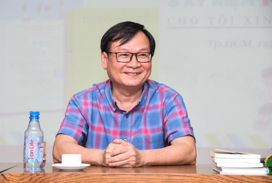 Chân dung Nhà văn Nguyễn Ngọc Ánh
